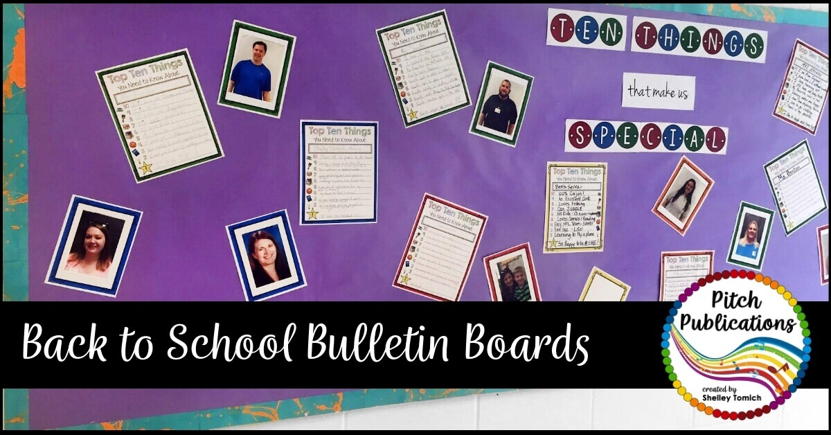 Music Bulletin Boards with Pitch Publications.