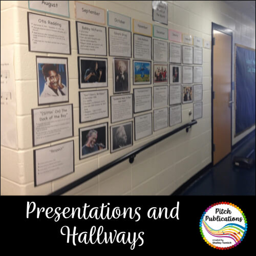 Presentations, Hallways, and Clipboards