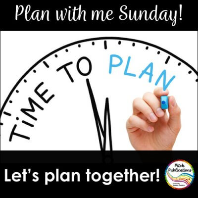Plan with Me Sundays!