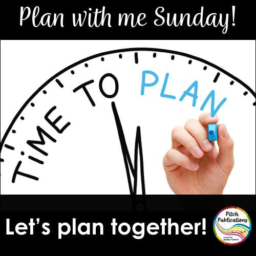 Plan with Me Sundays!
