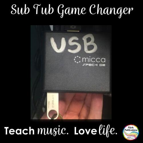 Game Changer: Sub Tub Tech Tool – USB Player