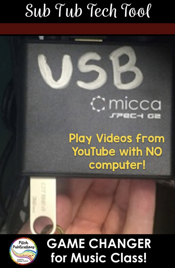 Game Changer: Sub Tub Tech Tool - USB Player | Pitch