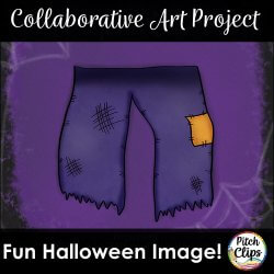 TpT Clipart Tribe Presents: Franken-Doodle-Stein Halloween Blog Hop