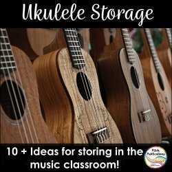 Ukulele Storage for the General Music Classroom