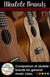 WOW! Do you teach ukulele in the general music classroom? You MUST check out this resource. It is amazing. There are teacher plans, teacher presentations, a student method book, reward system and more! #pitchpublications
