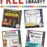 Join the FREE resource library for elementary music education! Find amazing items to help you organize your teaching and save you time with lesson planning! #elmused