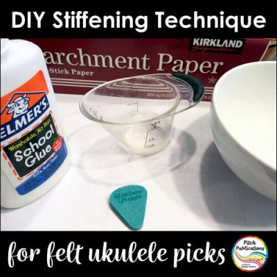 How to Stiffen Felt Picks for the Ukulele
