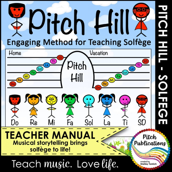 Pitch Hill Method for Teaching Solfege in Elementary Music