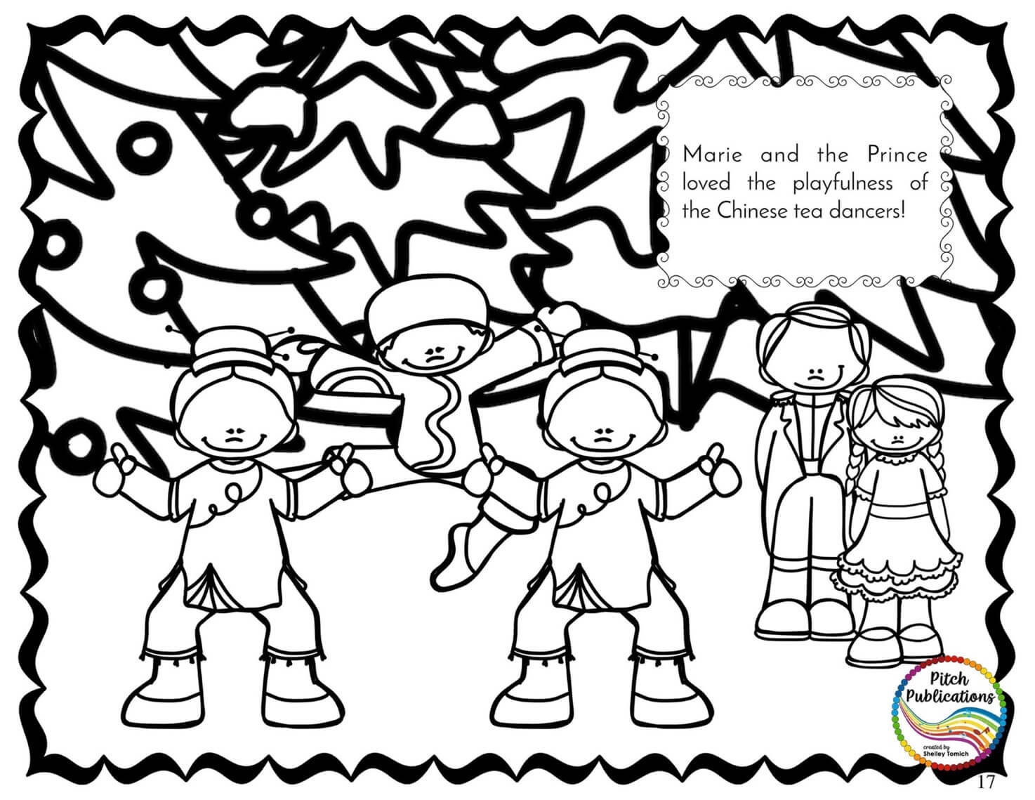 story book character coloring pages   Nutcracker Story Suite - Storybook Coloring book activity