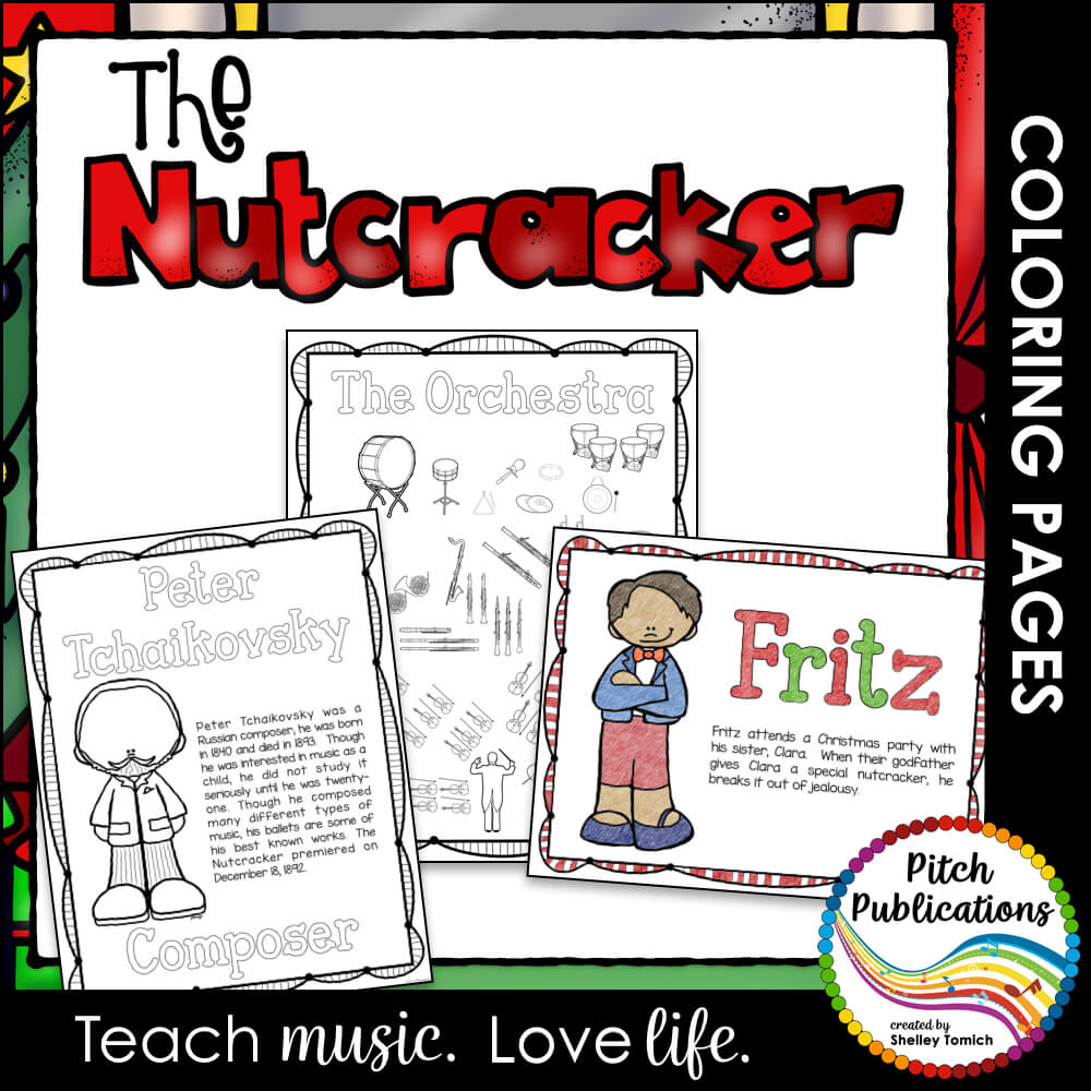 The Nutcracker Series - Educational Coloring Pages