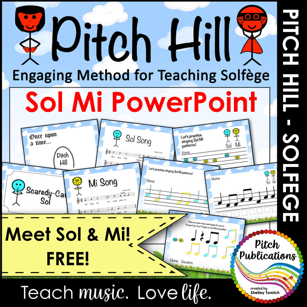 pitch hill introduce sol mi powerpoint free