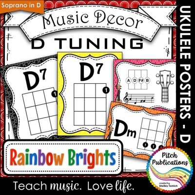 Chord Charts D Tuning Pitch Publications With Shelley Tomich