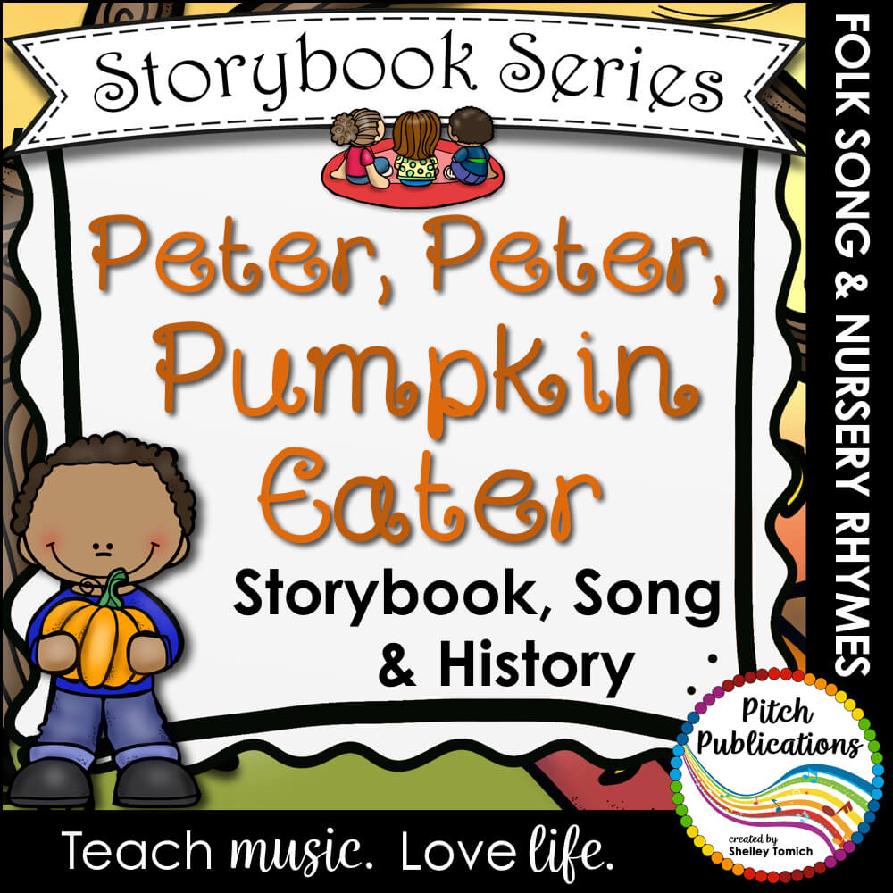 Storybook Series Peter Pumpkin Eater Nursery Rhyme