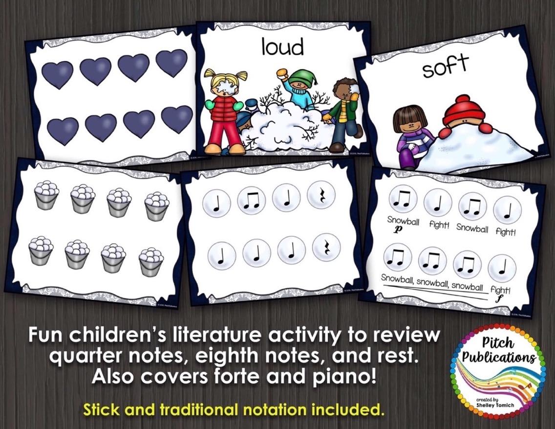 K 1 Music Lesson With Children S Literature Rhythm Dynamics