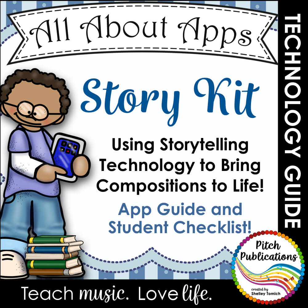 All About Apps: Story Kit - Bring your student's stories and
