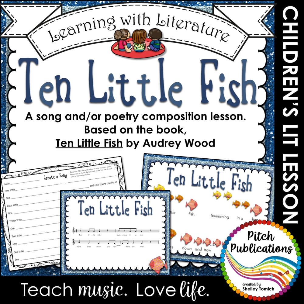 Learning with literature ten little fish music and poetry for Little fish song