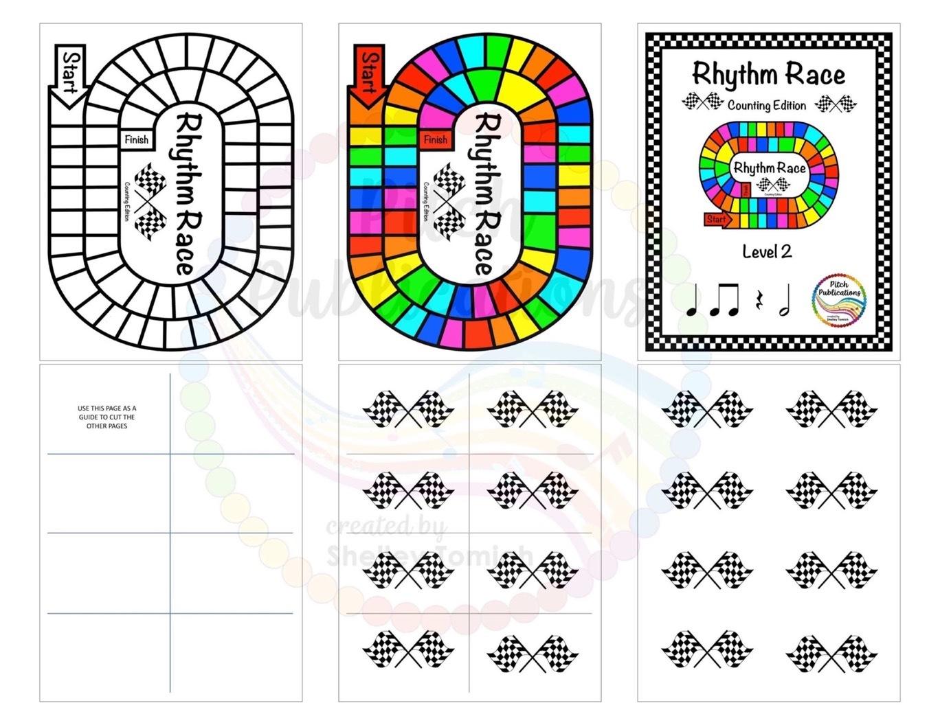 Music Centers: Rhythm Race Counting Edition Level 2 - Rhythm Game